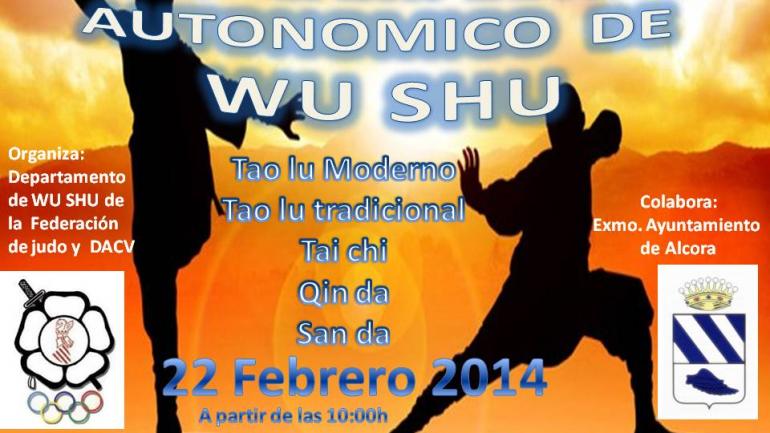 XXVIII Campeonato autonomico de wushu comunidad valenciana