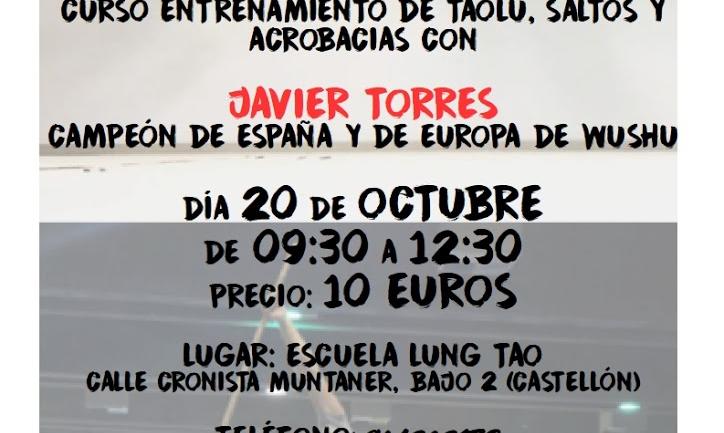 Curso con Javier Torres Gisbert