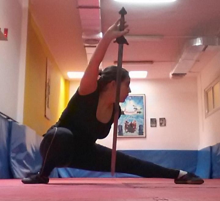La mujer y el Wushu: Elena Villalonga